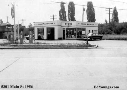 ED YOUNG'S TRUEVALUE ~Pictures of Main St Williamsville N Y  ~