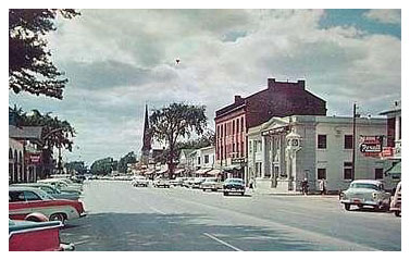 Main St West 1950